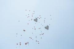2 воздушного шара стоковые изображения rf