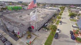 Воздушное видео- Wynwood Майами 3 4k видеоматериал