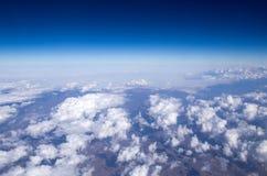 Воздушное небо стоковая фотография rf