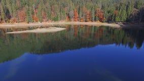 Воздушное озеро горы съемки акции видеоматериалы