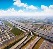 Воздушное соединение шоссе Стоковое Фото