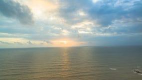 Воздушное фотографирование на маяке Kholak стоковая фотография