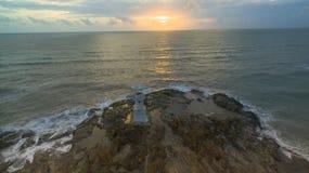 Воздушное фотографирование на маяке Kholak стоковые изображения