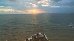 Воздушное фотографирование на маяке Kholak стоковая фотография rf