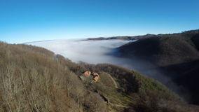 Воздушное фотографирование румына Montains Стоковая Фотография