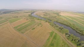 Воздушное фотографирование румына Montains акции видеоматериалы