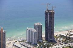 Воздушное фото башни дизайна Порше Стоковое Фото