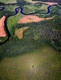 Воздушное фото Стоковое Изображение
