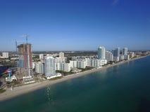 Воздушное фото Hallandale Флорида Стоковое Фото