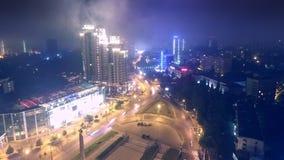 Воздушное timelapse от трутня района Аркадии в Одессе Украине акции видеоматериалы