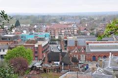 воздушное windsor взгляда Великобритании города Стоковое фото RF