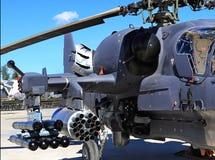 Воздушнодесантное вооружение штурмового вертолета Стоковая Фотография RF