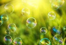 Воздушные пузыри Стоковые Фото