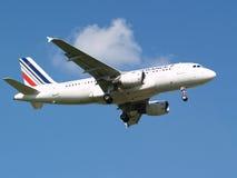 Воздушные судн аэробуса A319-111 Air France Стоковые Изображения