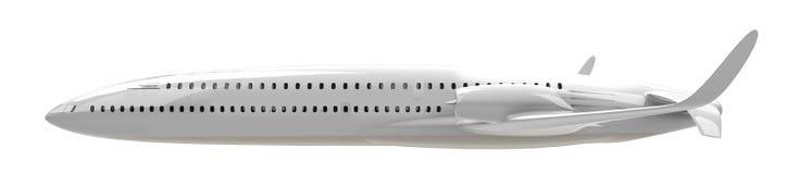 Воздушные судн двойной палуба иллюстрация штока