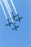 Воздушные судн летая акробатика образования Стоковая Фотография RF