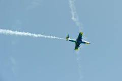 Воздушные судн дельфина L-29 в мухе Стоковая Фотография RF