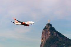 Воздушные судн и Христос спаситель стоковое изображение rf