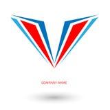 Воздушные судн крыла логотипа Иллюстрация штока