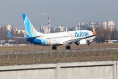 Воздушные судн Flydubai Боинга 737-800 Стоковые Фото