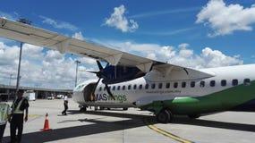 Воздушные судн Maswings ATR-72 Стоковая Фотография