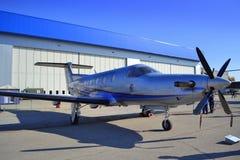 Воздушные судн Pilatus PC-12/45 Стоковое Фото