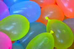 Воздушные шары воды стоковая фотография