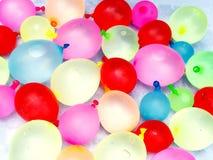Воздушные шары воды Стоковое фото RF