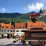Воздушные шары в Brasov Стоковое Фото
