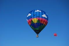 воздушные шары горячие 2 Стоковое Изображение