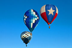 воздушные шары горячие 3 Стоковое Изображение RF