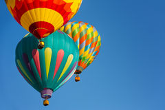 воздушные шары горячие стоковое фото rf