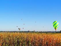 воздушные шары горячие стоковое изображение rf