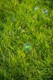 Воздушные шары мыла стоковое фото rf