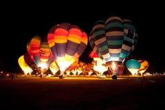 Воздушные шары над Waikato Стоковые Фото