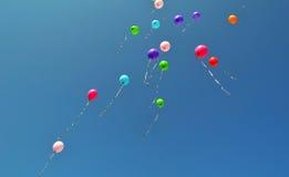 Воздушные шары, праздник Стоковые Изображения