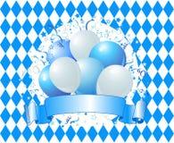 Воздушные шары торжества Oktoberfest Стоковое фото RF