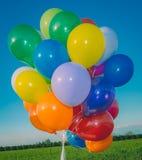воздушные шары цветастые Стоковое фото RF