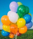 воздушные шары цветастые Стоковые Изображения