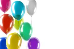 Воздушные шары цвета партии Стоковая Фотография