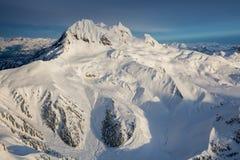 Воздушный ландшафт горы Стоковое Изображение RF