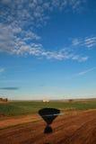 Воздушный ландшафт от горячего воздушного шара Стоковая Фотография RF