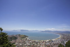 Воздушный ландшафт Стоковое Фото