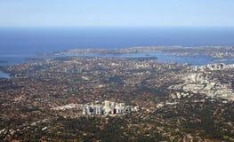 воздушный взгляд Австралии Сиднея Стоковое Изображение