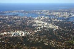 воздушный взгляд Австралии Сиднея Стоковые Фото