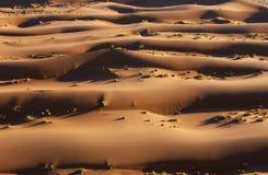 воздушный взгляд namib пустыни Стоковые Фотографии RF