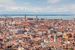 воздушный взгляд Италии venice Стоковые Фото