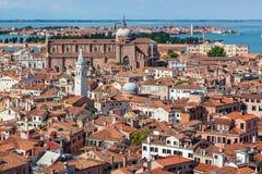 воздушный взгляд Италии venice Стоковое Изображение RF