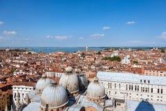 воздушный взгляд Италии venice Стоковые Фотографии RF