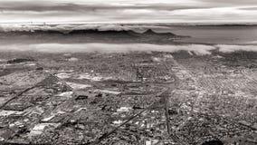 воздушный взгляд Cape Town Стоковое Изображение RF